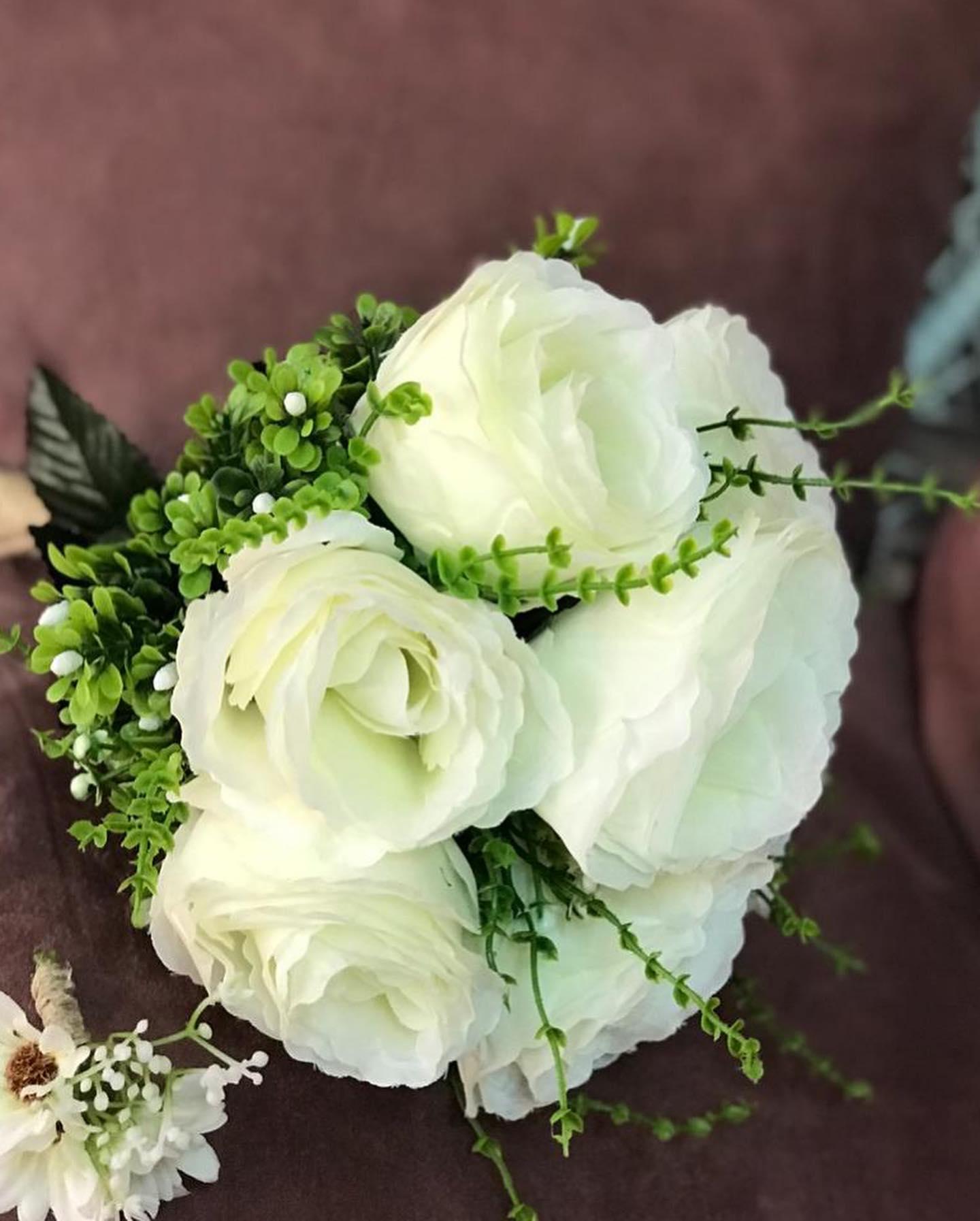 بوكيه ورد العروسة