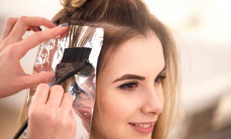 انواع صبغات الشعر