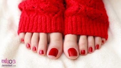العناية ببشرة القدمين في الشتاء