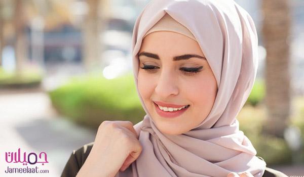 حجاب لوجه طويل