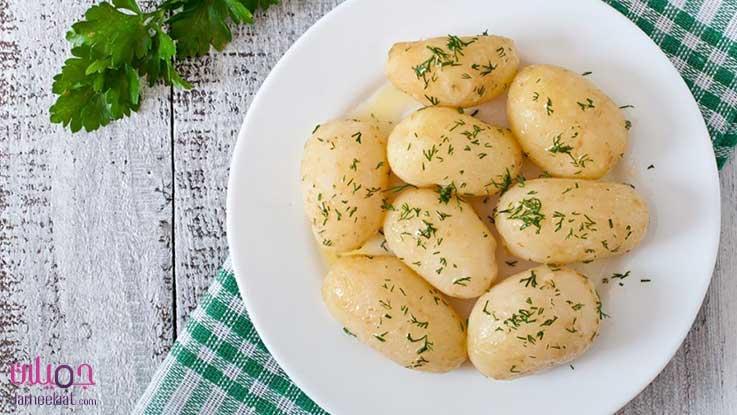 رجيم البطاطس المسلوق