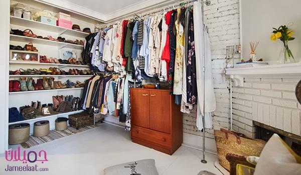 فكرة لغرفة الملابس