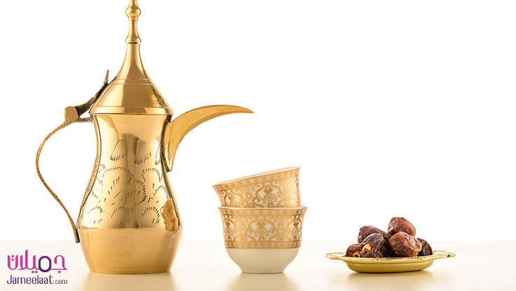 فنجان القهوة العربية