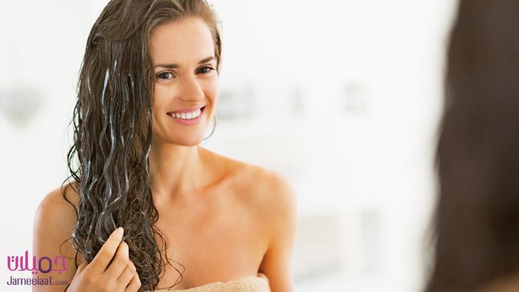 افضل طريقة لاستخدام بلسم الشعر