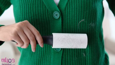 طرق إزالة الوبر من ملابس الشتاء