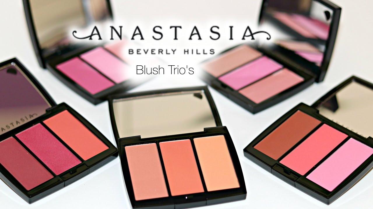 بلاشر Blush Trio من Anastasia Beverly Hills