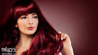 طريقة صبغ الشعر باللون الأحمر بالبيت