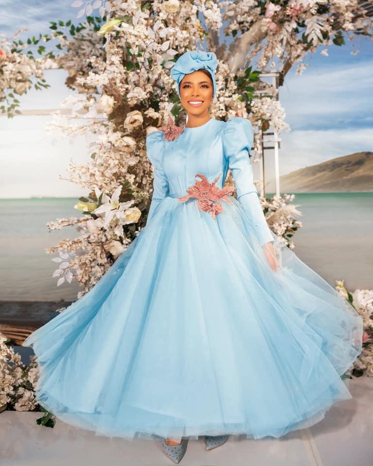 فستان سواريه بيبي بلو