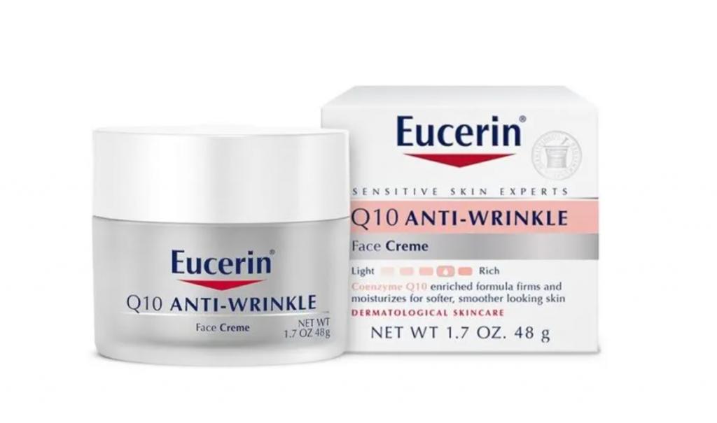 كريم Eucerin anti wrinkle Q10