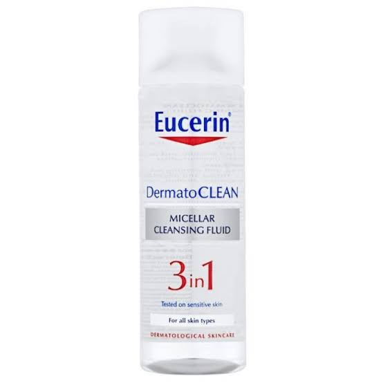 السائل المنظف ميسلر 3 في 1 Eucerin DermatoCLEAN 3 in 1 Micellar Cleansing Fluid