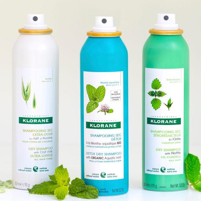 دراي شامبو Klorane Dry Shampoo