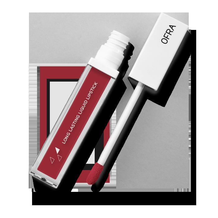 روج احمر أوفرا ڤيرميليون OFRA Long Lasting Liquid Lipstick