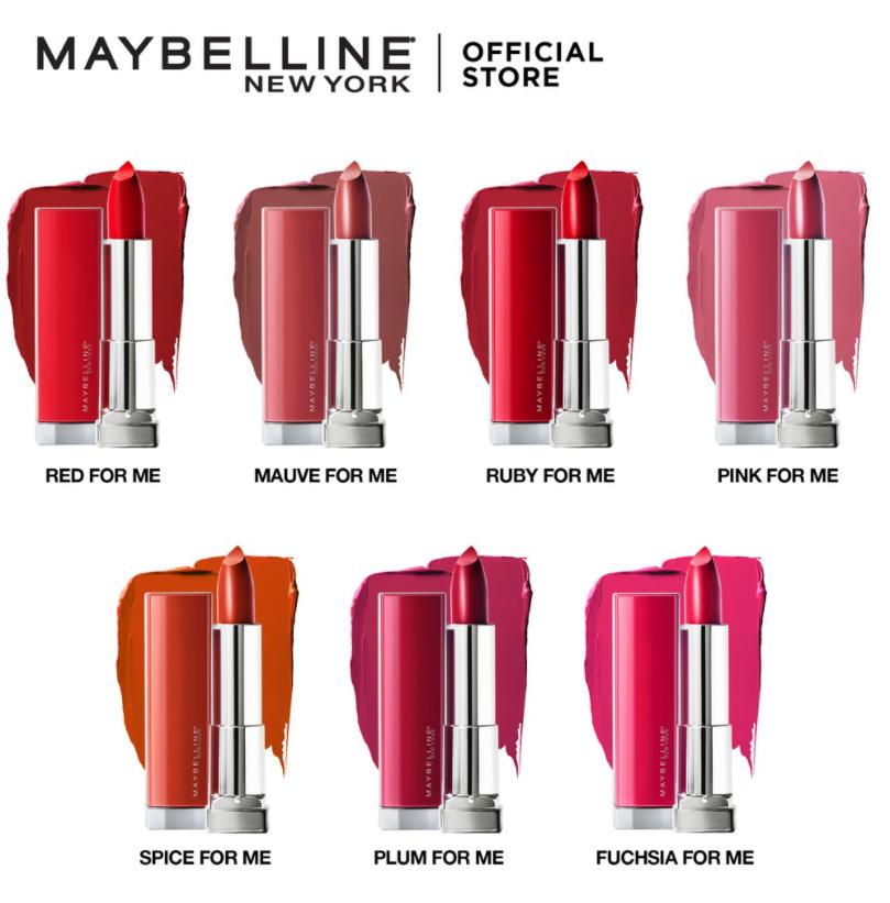 روج ميبلين ريد مايد فور أول Maybelline Red For All