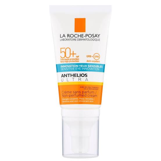 صن بلوك للبشرة الجافة من لاروش بوزيه Anthelios Ultra SPF 50+ Cream