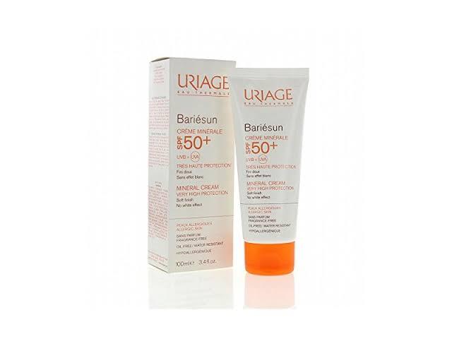 صن بلوك للبشرة الجافة من يورياج Uriage Bariesun Mineral Cream Spf 50