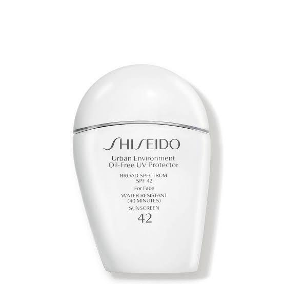 صن بلوك للبشرة الدهنية SHISEIDO Urban Environment SPF 42 Oil-Free UV Protector