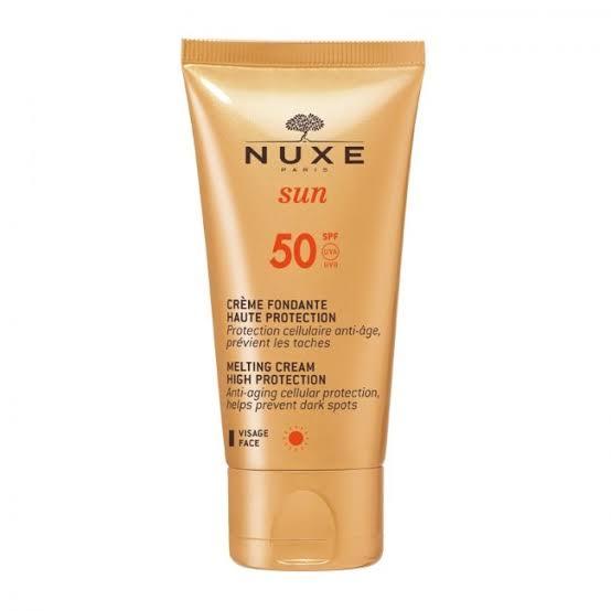 صن بلوك للبشرة المختلطة من نوكس Nuxe Sun SPF 50