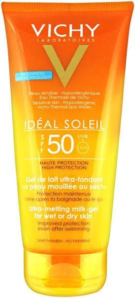 صن بلوك Vichy ميلك جلSPF 50 Ultra-Melting Milk Gel