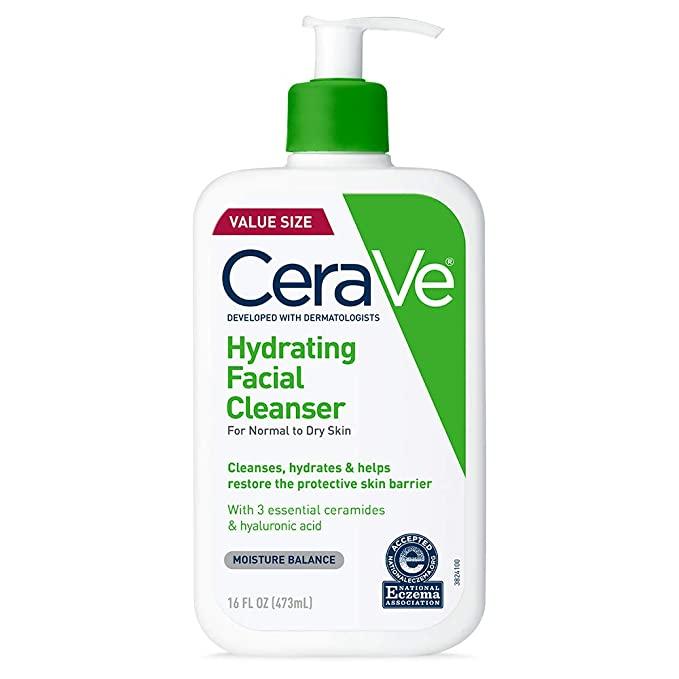 غسول سيرافي للبشرة الجافة هيدراتينج كلينزر Hydrating Facial Cleanser