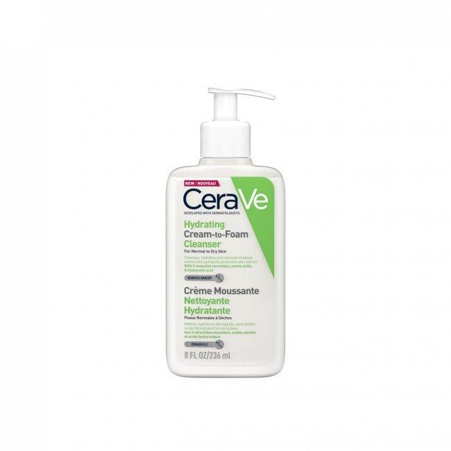 غسول سيرافي للبشرو الجافة هيدراتينج كلينزر Hydrating Cream-to-Foam Cleanser