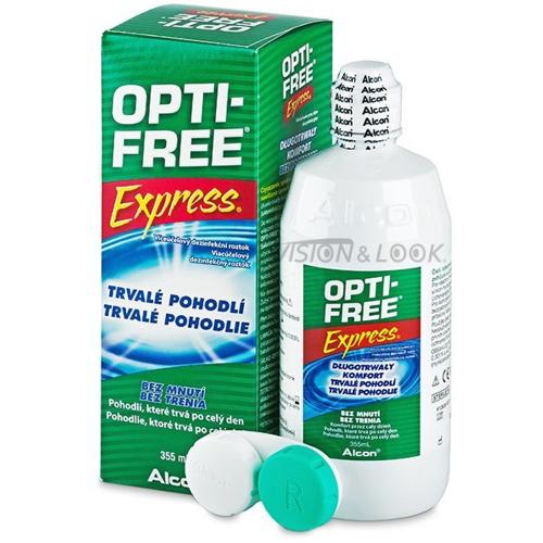 مميزات استخدام محلول عدسات أوبتي فري أكسبريس