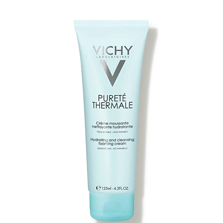 غسول vichy purete thermale hydrating and cleansing foaming cream