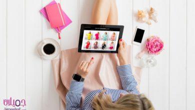 التسوق عبر الانترنت للنساء